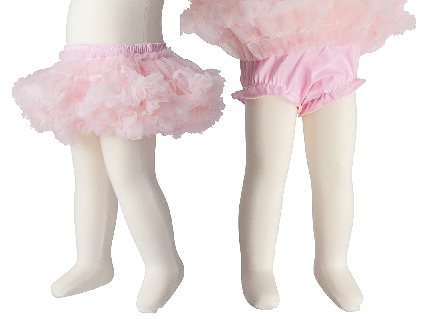 Mille Feuille Baby Girls Pettiskirt Bloomers Tutu Pale Pink