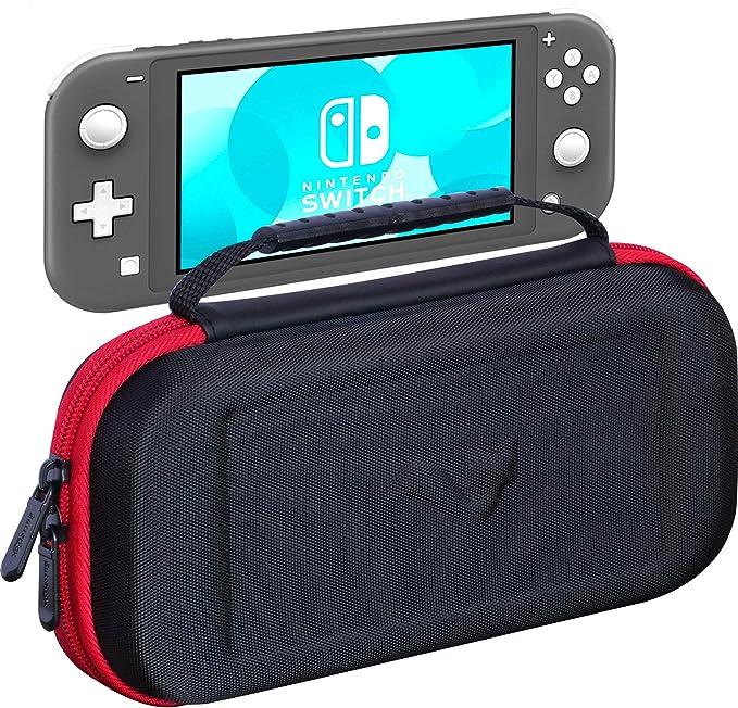 ButterFox Switch Lite - Funda de Transporte para Nintendo Switch Lite con 19 Juegos y 2 Soportes para Tarjetas Micro SD, Color Rojo y Negro: Amazon.es: Informática