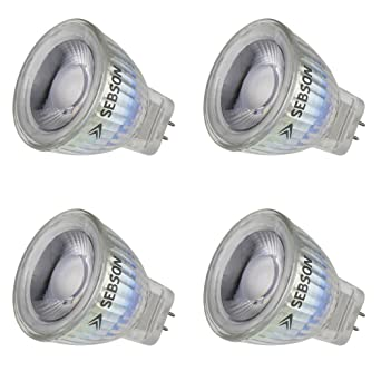 Sebson Led Lampe Gu4 Mr11 Warmweiss 3w Ersetzt 20w Gluhlampe 220