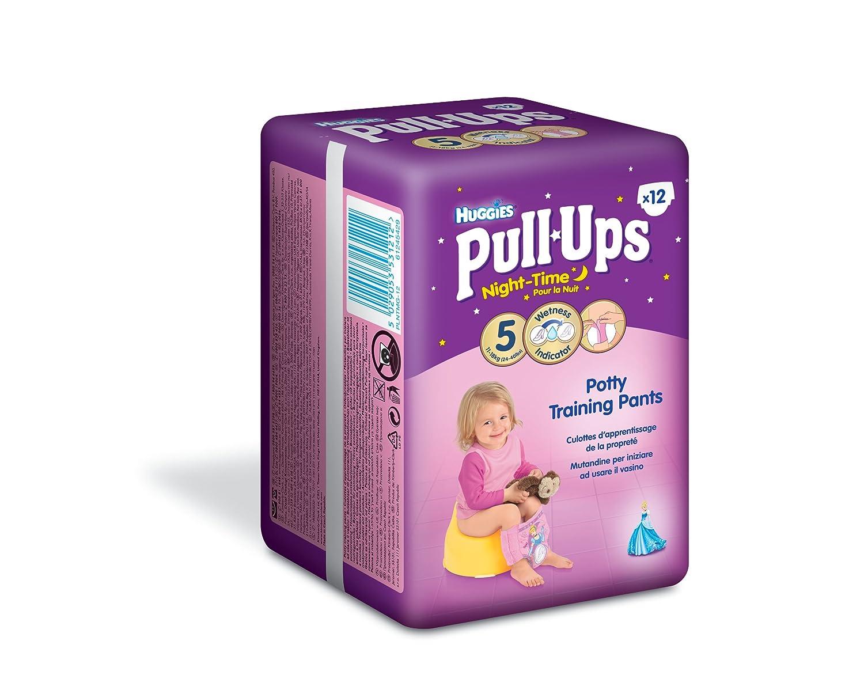Huggies Pull Ups Lot de 10culottes d'entraînement pour pour fille, taille M Kimberly-Clark 2919521