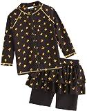 Amazon Price History for:Vaenait baby 2T-7T Kids Girls Rashguard Swimsuit Long Shirt and Shorts Set