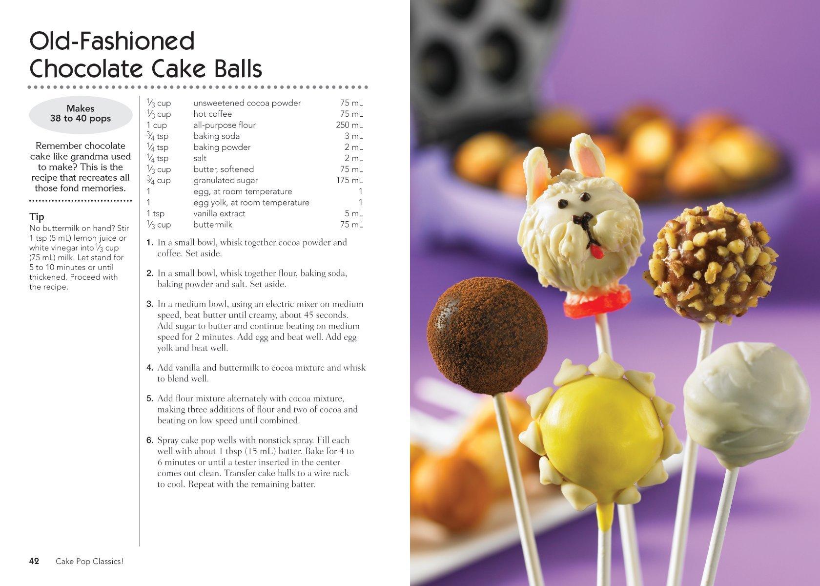 Babycakes Cake Pop Instructions