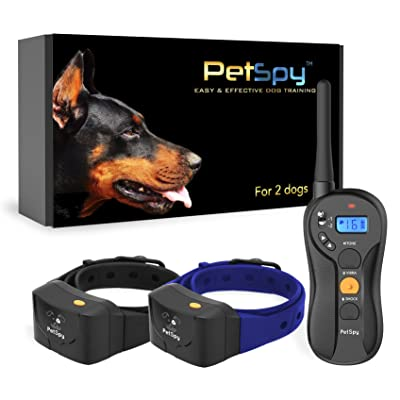 PetSpy P620B Dog Training Shock Collar