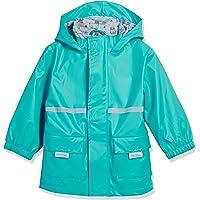 SILLY BILLYZ Bear Hood Waterproof Jacket, X-Large, Aqua