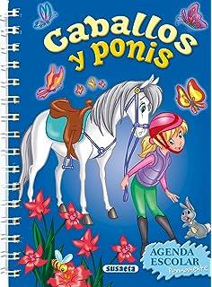 Agenda Escolar Permanente - Caballos y ponis Agendas De ...