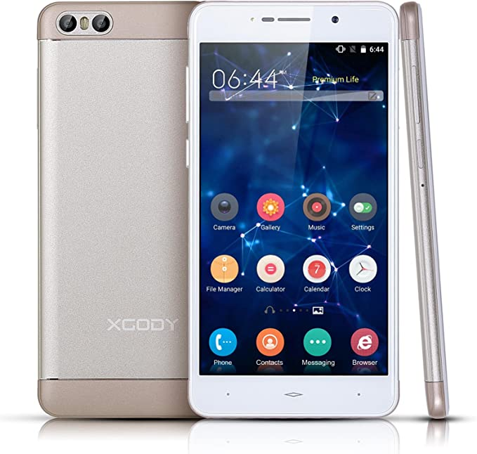 XGODY S10 Android 5.1 Dual SIM Desbloqueado Smartphone 5.2 Inch ...