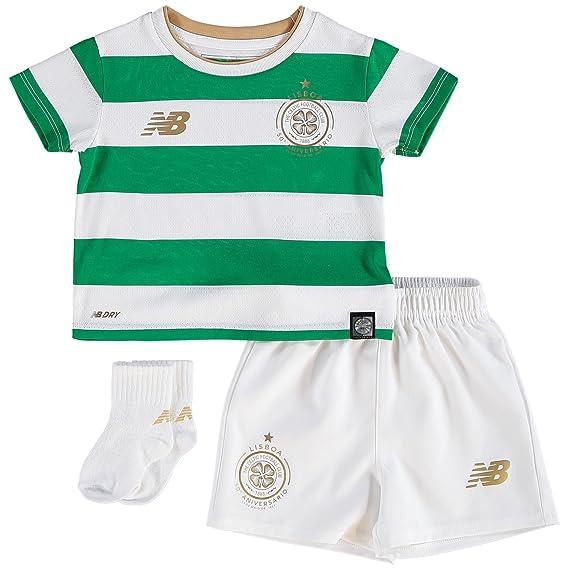 New Balance Celtic FC 2017 18 Infant Home Kit cfe7ad043