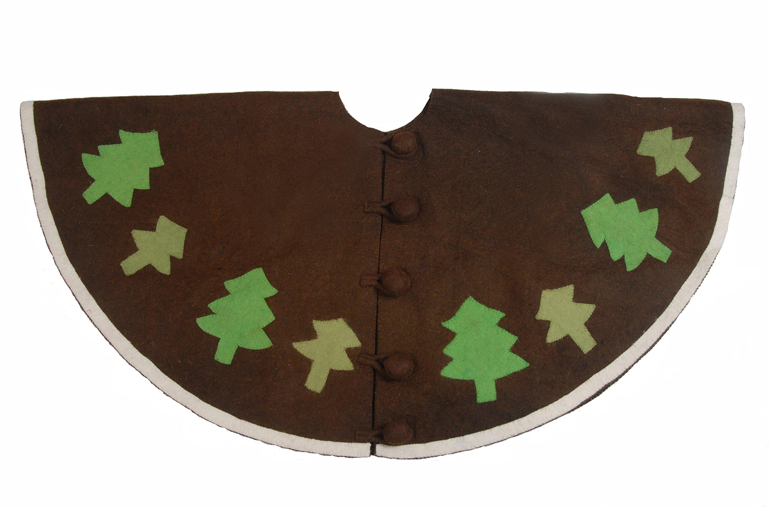 Arcadia Home Christmas Tree Skirt