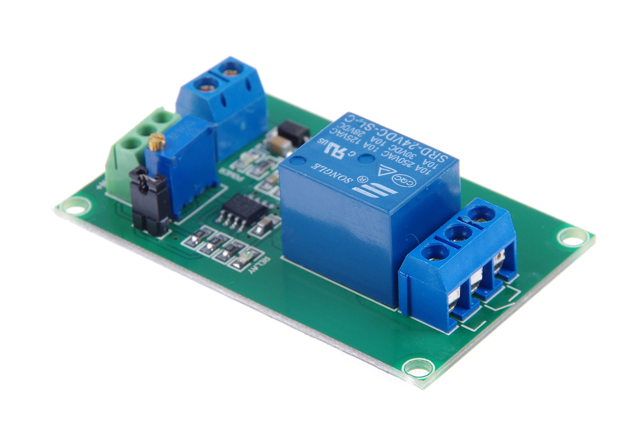 KNACRO 1-Way 24V Voltage Comparator Module LM393 Voltage Comparator IC For Automotive circuit modification Industrial equipment Circuit Application Testing