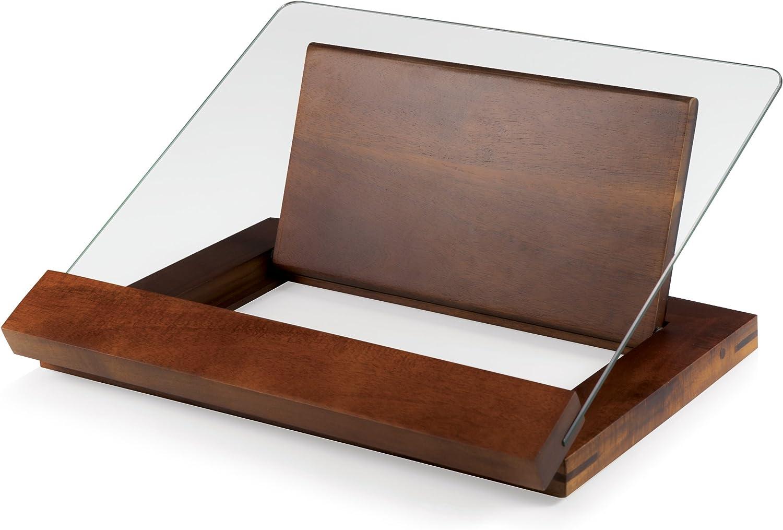 TOSCANA - a Picnic Time Brand Fabio Viviani Prodigio Acacia Wood Cookbook Stand