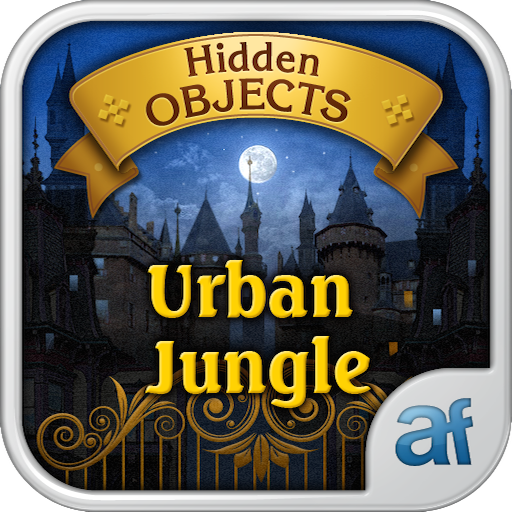 Hidden Objects Urban Jungle & 3 puzzle (Halloween Hidden Word Search)