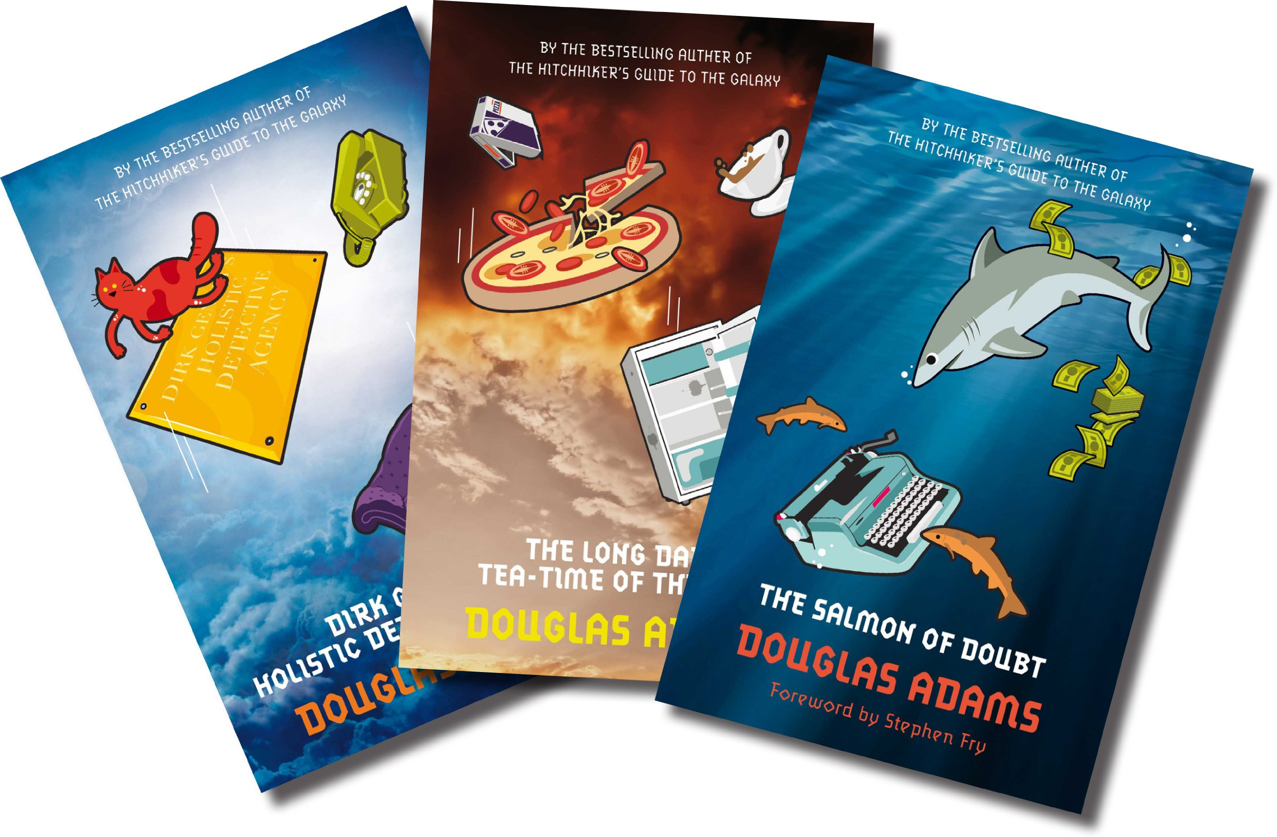 Douglas Adams (three Book Set, Includes The Salmon Of Doubt, Dirk Gently's  Holistic Detective Agency, And The Long Dark Teatime Of The Soul):  Amazon: