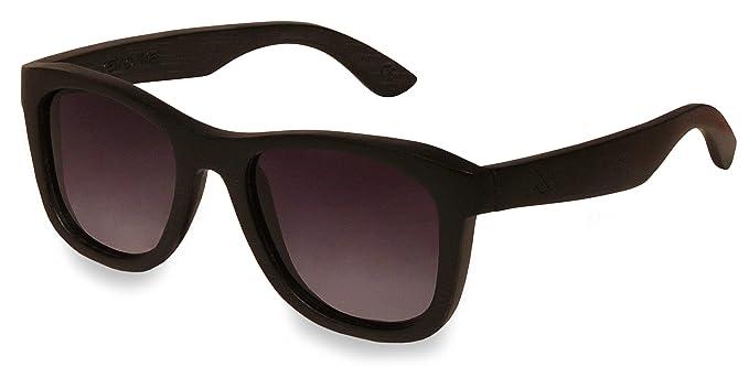 Holz Sonnenbrille Overseer Black & White zHq37q0d2