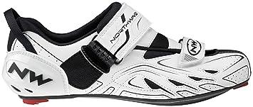 NW Northwave TRIBUTE - WHITE-BLACK 41 de triatlón para mujer zapatillas de deporte