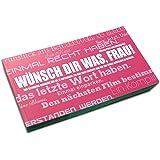 Gutscheinbuch für Frauen: WÜNSCH DIR WAS!