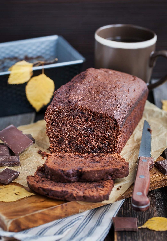 Easy Grip Bakeware 9.5 x 5 Inch Non-Stick Original Loaf Cake Bread Meatloaf Baking Pan