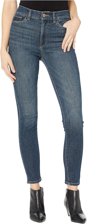DL1961 Womens Farrow High Rise Instasculpt Skinny Ankle Jean
