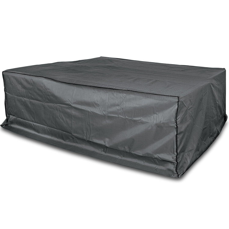 #0107 Schutzhülle Lounge Sofa 200cm Gartenmöbel Schutz Hülle Abdeckung Tragetasche Plane • Premium für GartenMöbel 200x190x90 cm
