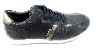 san francisco 92fdc 92220 OTTO KERN Sneaker 80581 Navy Dunkelblau Damen Wildleder (38 ...