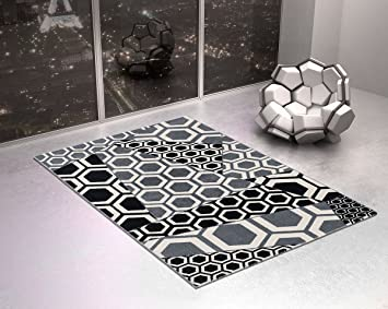Elegant Arredo Carpet Tripolis Style Teppich Design Modern Geometrisch In  Graustufen Für Dekorieren Schlafzimmer Oder Zone Igresso