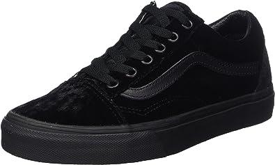 black vans velvet