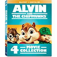 Alvin and the Chipmunks: 4-Movie Collection [Blu-ray]