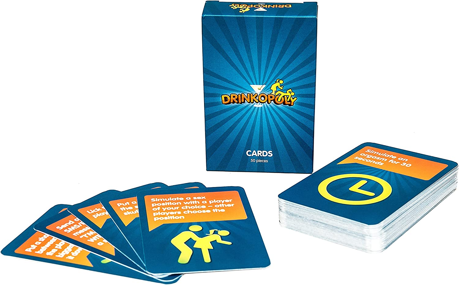 Drinkopoly the King of Drinking Games English language Additional cards