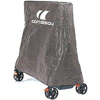 Cornilleau Funda de PVC para mesas de Tenis de Mesa, Color Gris