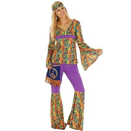 dressforfun Costume da Donna - Hippie  e3a901abe98