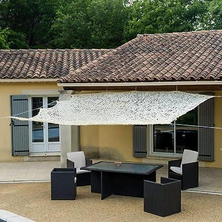 WerkaPro 10105 - Toldo calado de poliéster rectangular para balcón ...