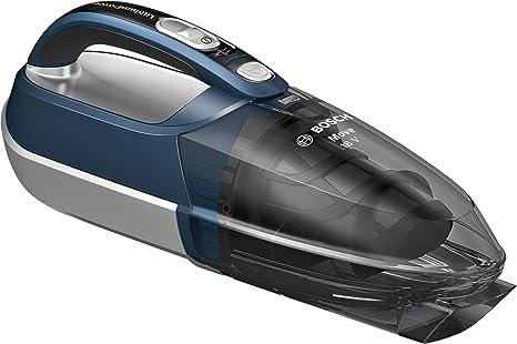 Bosch BHN1840L Move Lithium Aspirador, 0.4 litros, Azul/gris traslúcido/plata