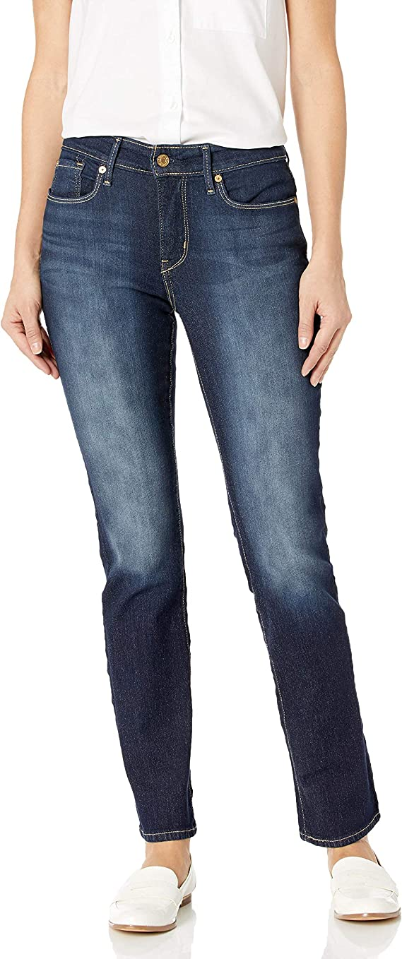 Signature by Levi Strauss & Co. Gold Label Women's Totally Shaping Slim Straight Leg Denim | Denim Fashion for Women