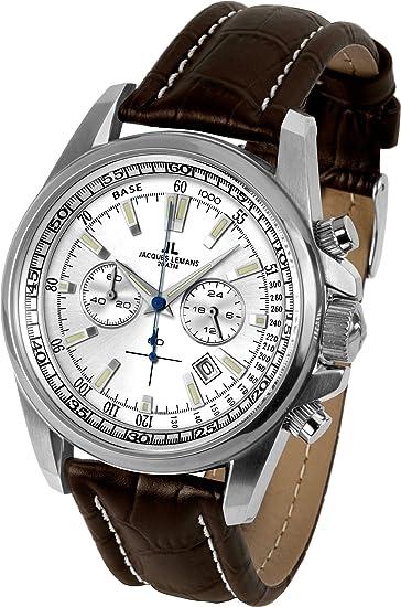 347c1bce528c JACQUES LEMANS Liverpool 1-1117 N - Reloj de Caballero de Cuarzo ...