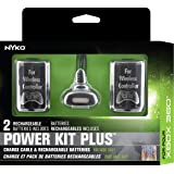 Nyko Power Kit Plus - 2 Pack Rechargeable Battery with Charge Cable for Xbox 360