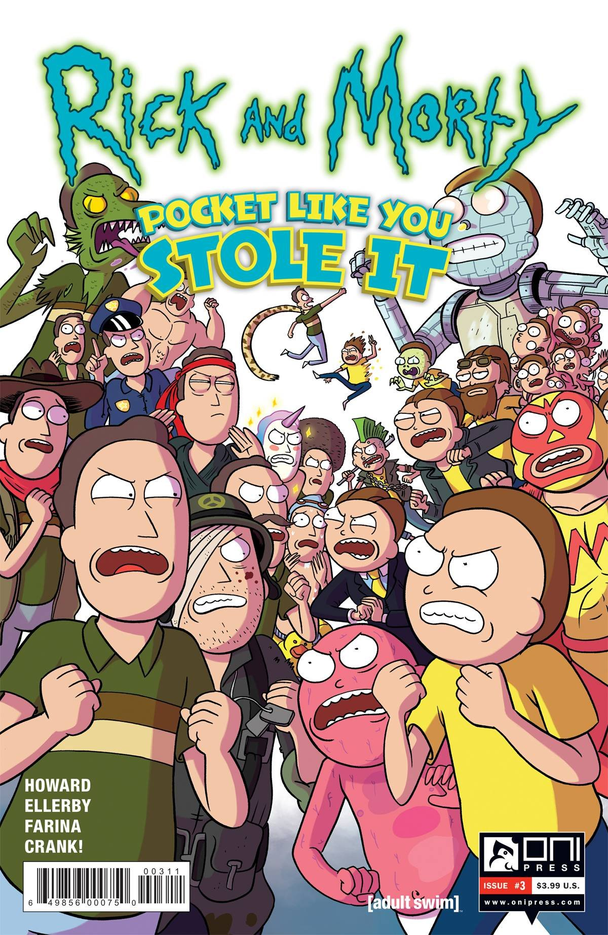 Download RICK & MORTY POCKET LIKE YOU STOLE IT #3 (OF 5) Release Date 9/13/17 ebook