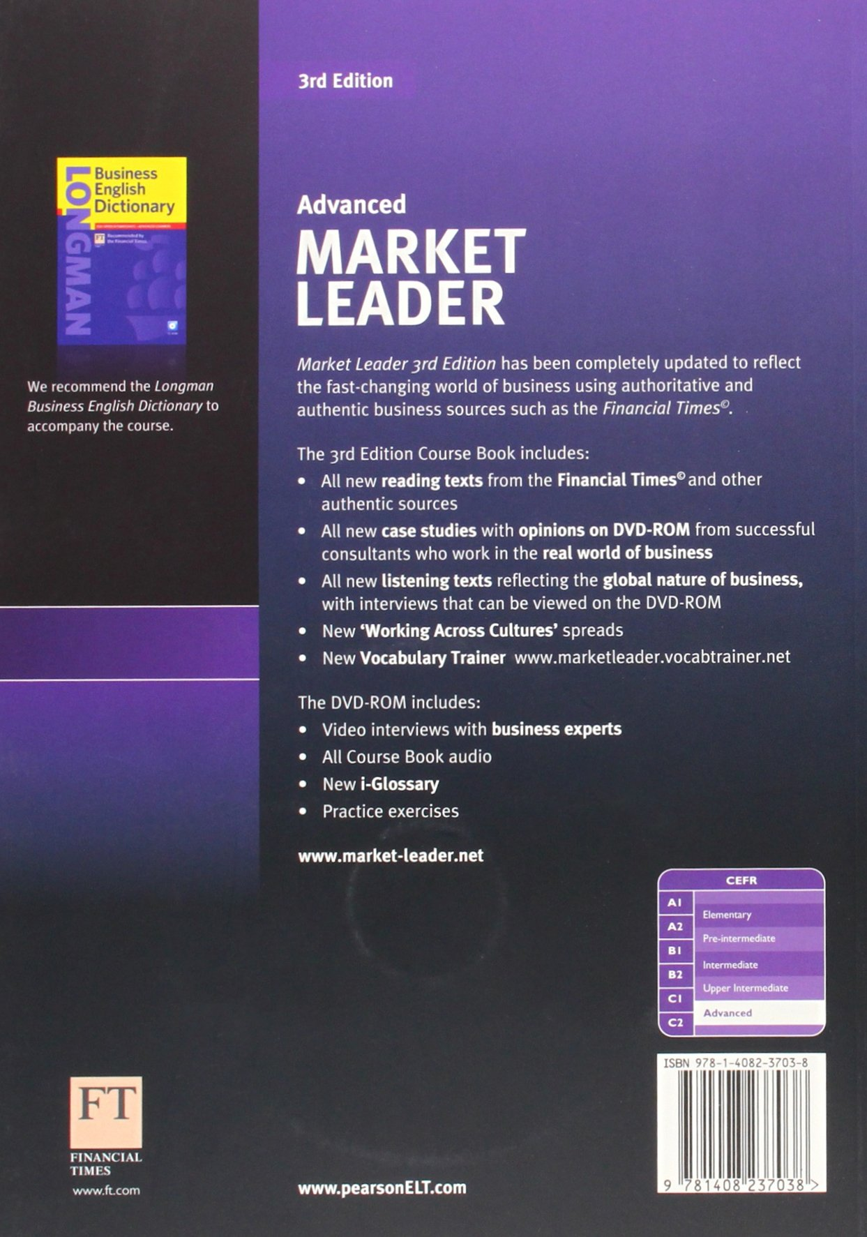 Market Leader 5 Advanced Coursebook with Self-Study CD-ROM and Audio CD (3rd Edition)