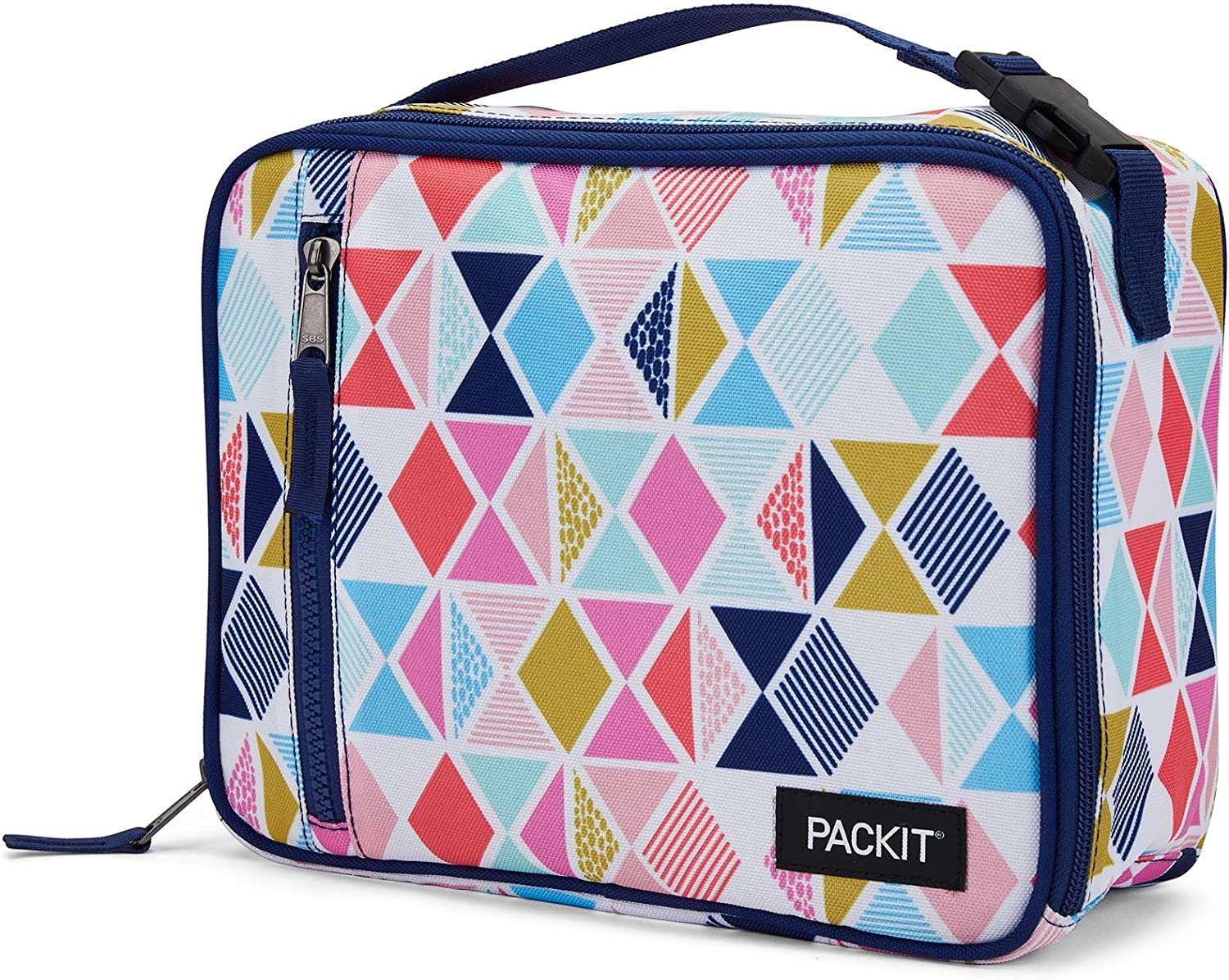 PackIt Freezable Classic Lunch Box, Festive Gem