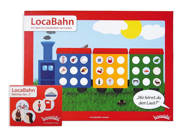LocaBahn + Bildchip-Set f - Ein spannendes Spiel zur Verbesserung der Hörwahrnehmung