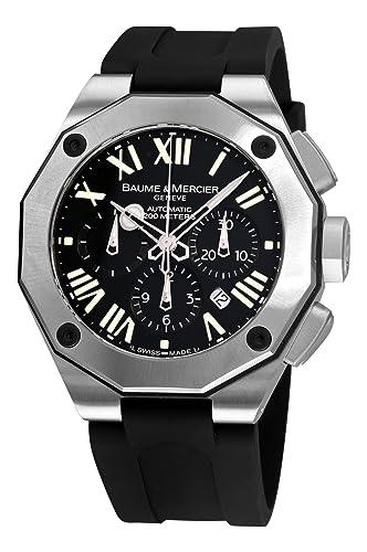 bf0f7c282d01 Baume Mercier - hombre 8854 Riviera XXL Cronógrafo Negro Dial reloj ...