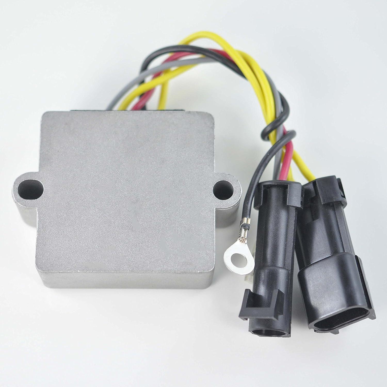 Mosfet Voltage Regulator Rectifier For Mercury Outboard V-140/150 / 175/200 / 40 50 60 EFI/Formula 60 OEM Repl.# 830179T1 830179T2 854515T2 883072T1 893640002 893640T01 RMSTATOR
