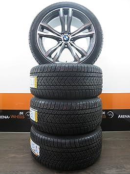 BMW X5 E70 F15 10J X 20 pulgadas et 40 Llantas Neumáticos de invierno ruedas Invierno Tapicería nuevo: Amazon.es: Coche y moto