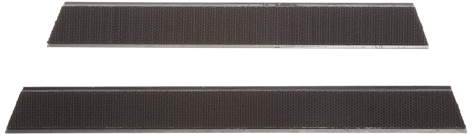 Rubbermaid Commercial FGQ18000BK00 Hook and Loop Replacement Set for Q560 Quick-Connect Wall/Stair Mop Frame, 18-inch, Black