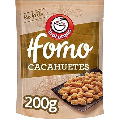 Matutano - Cacahuetes Tostados Al Horno - 200 g: Amazon.es ...