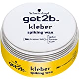 Schwarzkopf Got2b Kleber Spiking Wax, 3er Pack (3 x 75 ml)