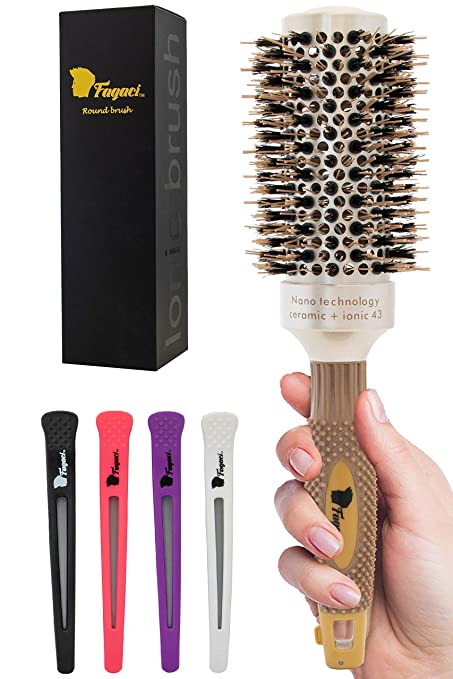 5. Fagaci Round Brush for Blow Drying