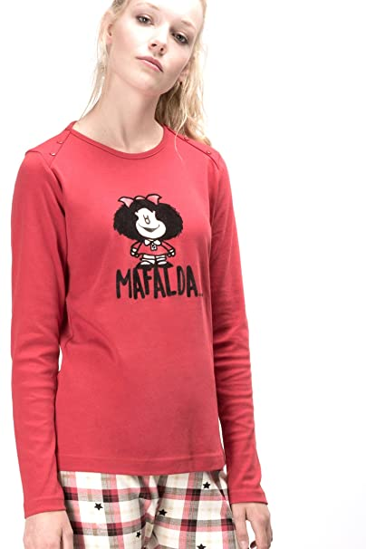 Pijama MAFALDA Mujer GISELA ROJO (S)