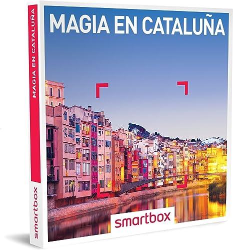 Smartbox - Caja Regalo para Adolescentes - Ideas Regalos Originales - Experiencias gastronómicas para Dos: 2 o 3 días en Cataluña: Amazon.es: Deportes y aire libre