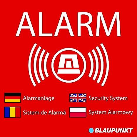 Blaupunkt WA-S1 Netbote24 – Pegatinas de advertencia de ...
