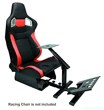 Excellent Amazon Com Tanaka Driving Simulator Cockpit Gaming Chair Andrewgaddart Wooden Chair Designs For Living Room Andrewgaddartcom