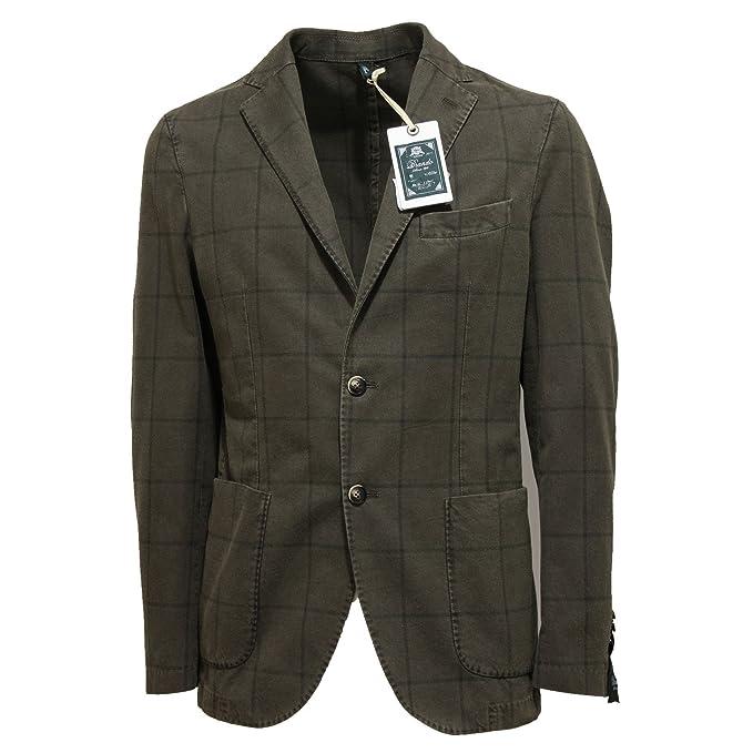 lower price with 12633 8937f 7058L giacca verde uomo BRANDO giacche jackets men [50 R ...